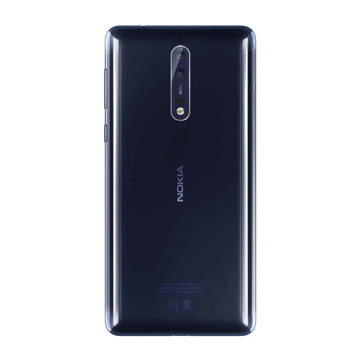 Nokia 8 Polished Blue 4