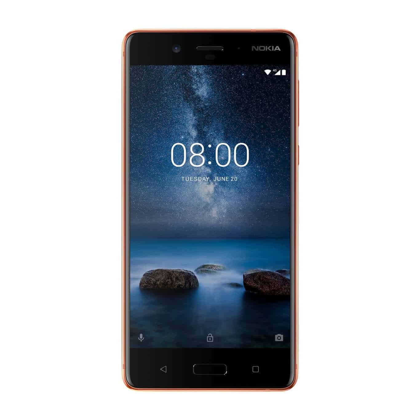 Nokia 8 Polished Copper 1