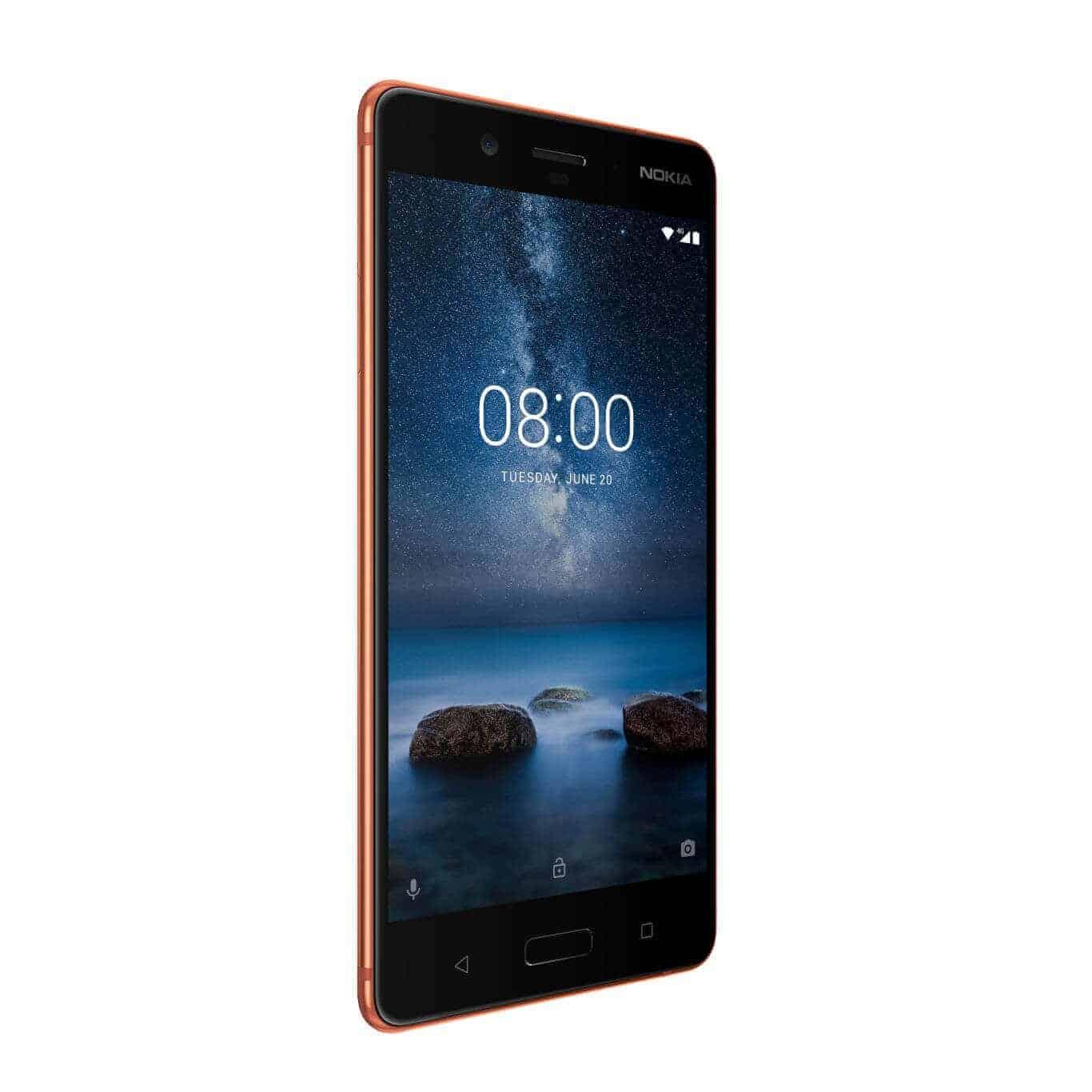Nokia 8 Polished Copper 3
