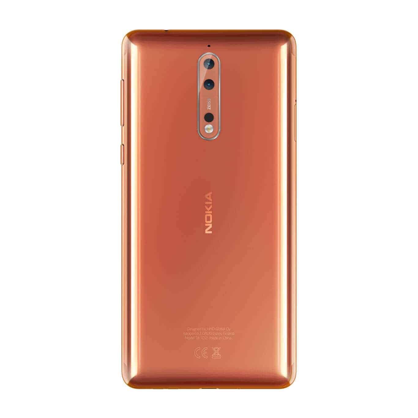 Nokia 8 Polished Copper 4