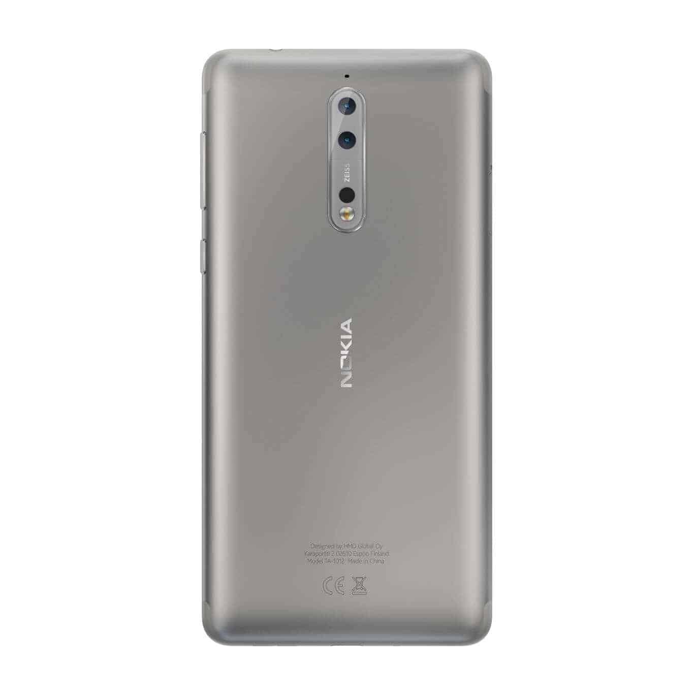 Nokia 8 Arrives To India With 4GB Of RAM, ZEISS Optics ...
