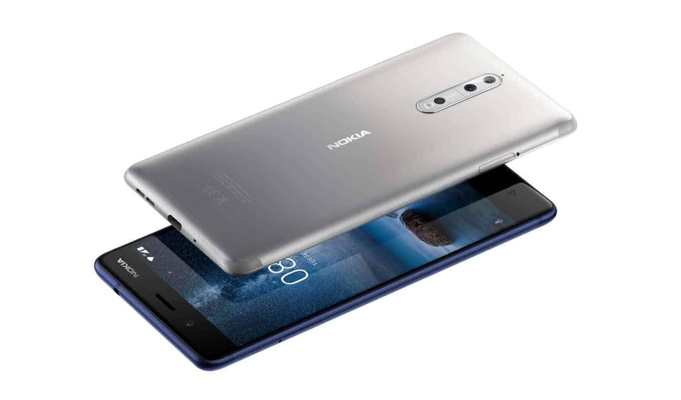 Nokia 8 Steel and Tempered Blue 1