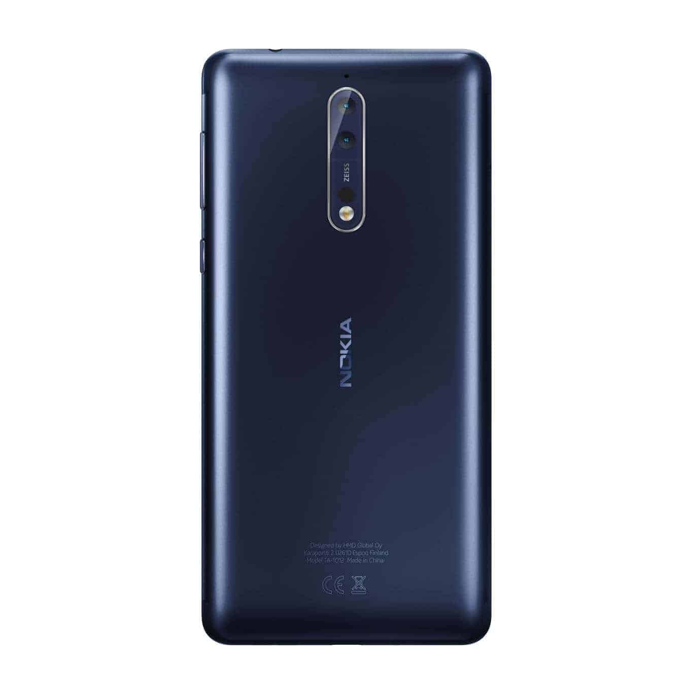 Nokia 8 Arrives To India With 4gb Of Ram Zeiss Optics
