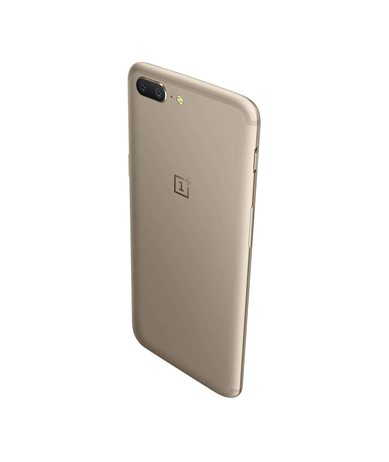 OnePlus 5 Soft Gold 1