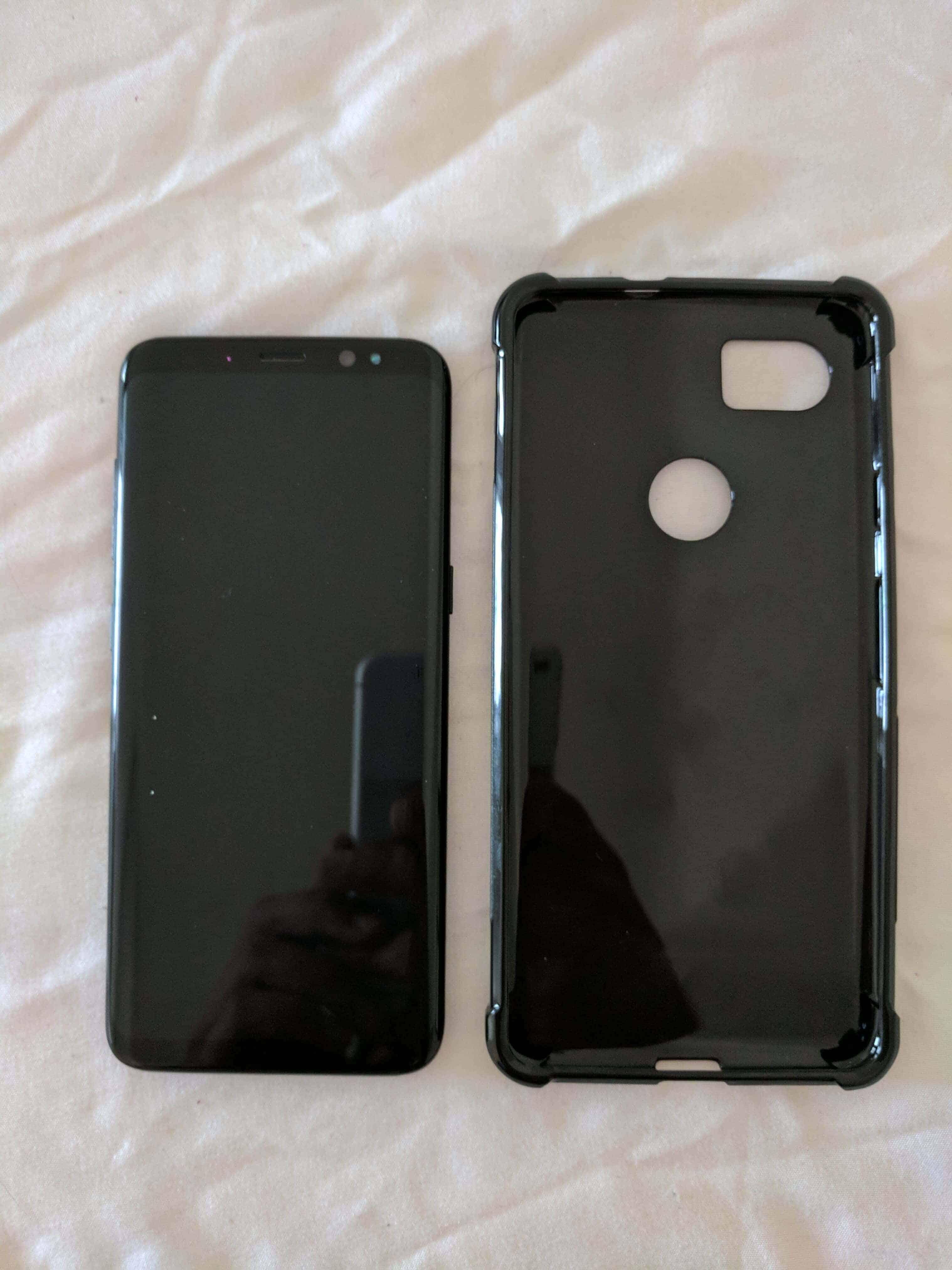 Pixel XL 2 Case Size Comparison Imgur Leak 5