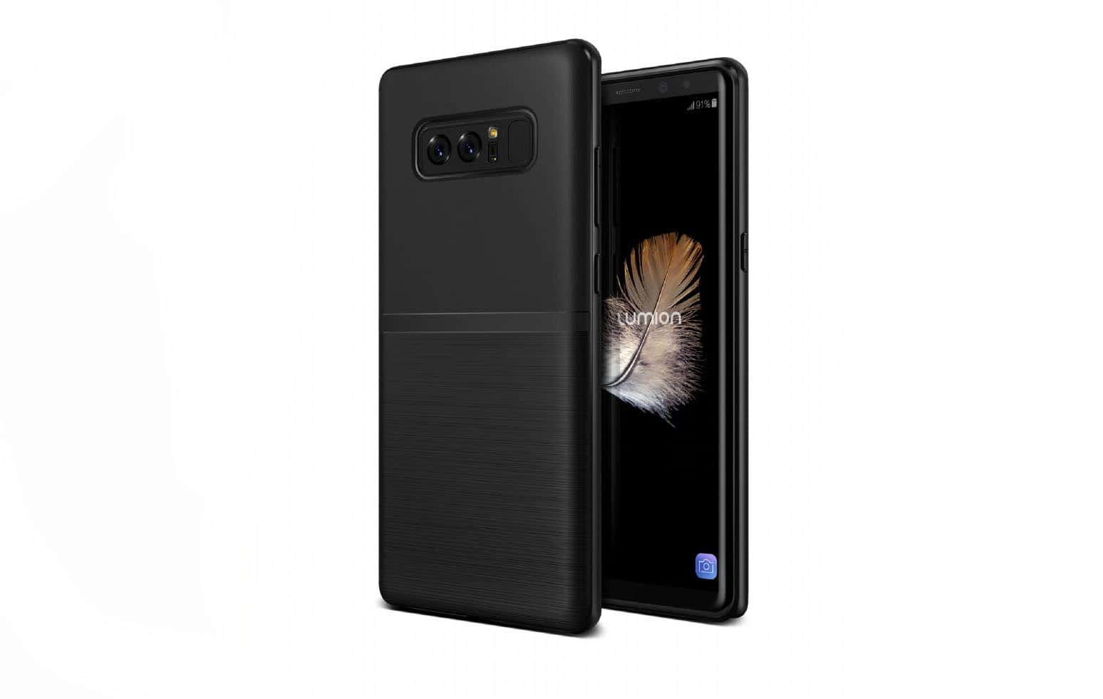 samsung note 8 case. new samsung galaxy note 8 cases appear with phone\u0027s renders | androidheadlines.com case c