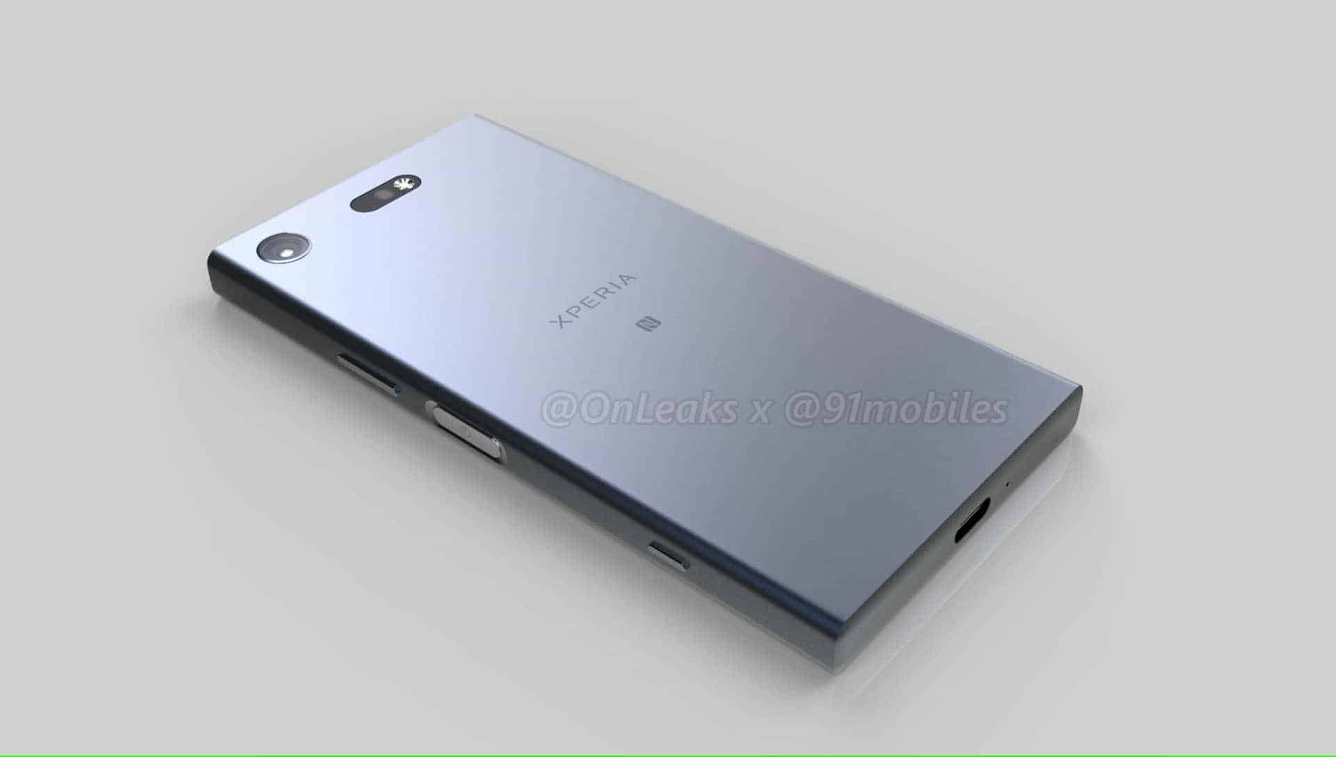 Sony Xperia XZ1 Compact Leaked Renders 1