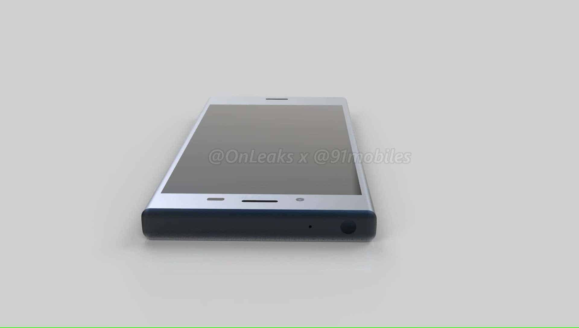 Sony Xperia XZ1 Compact Leaked Renders 10
