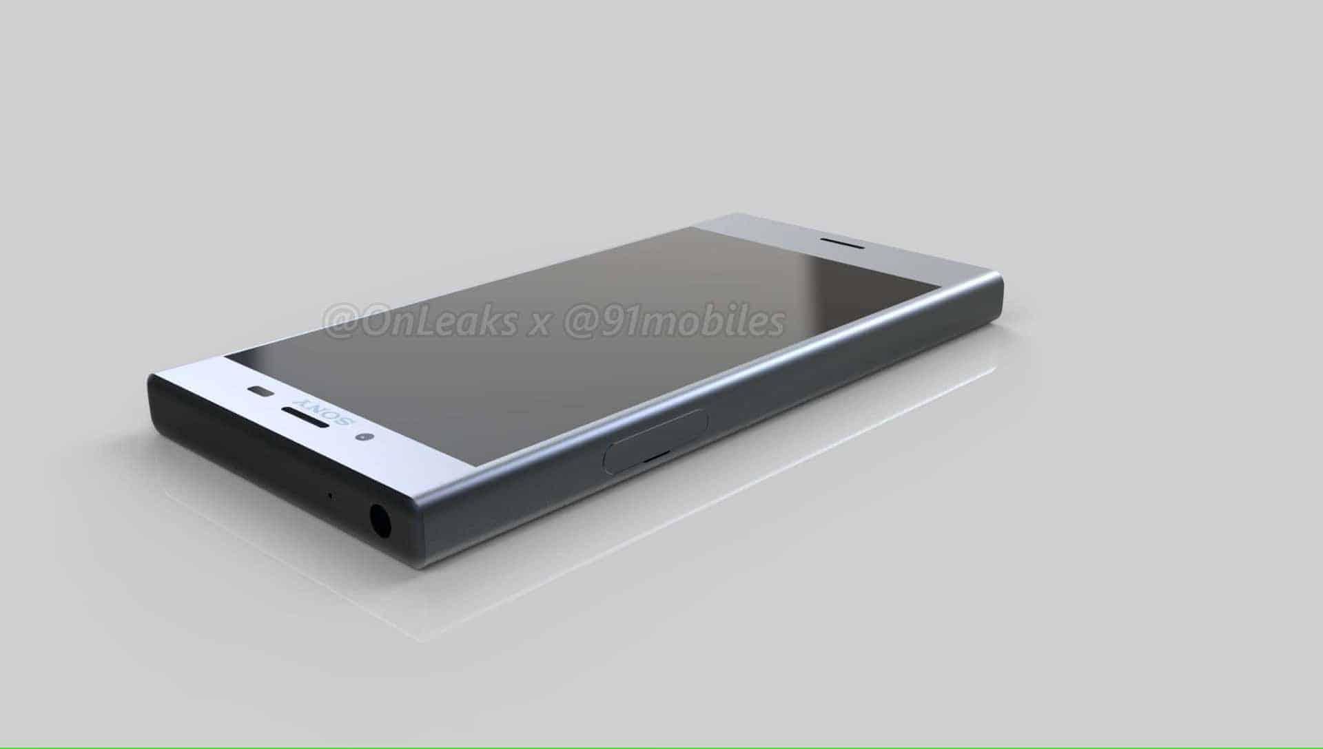 Sony Xperia XZ1 Compact Leaked Renders 11