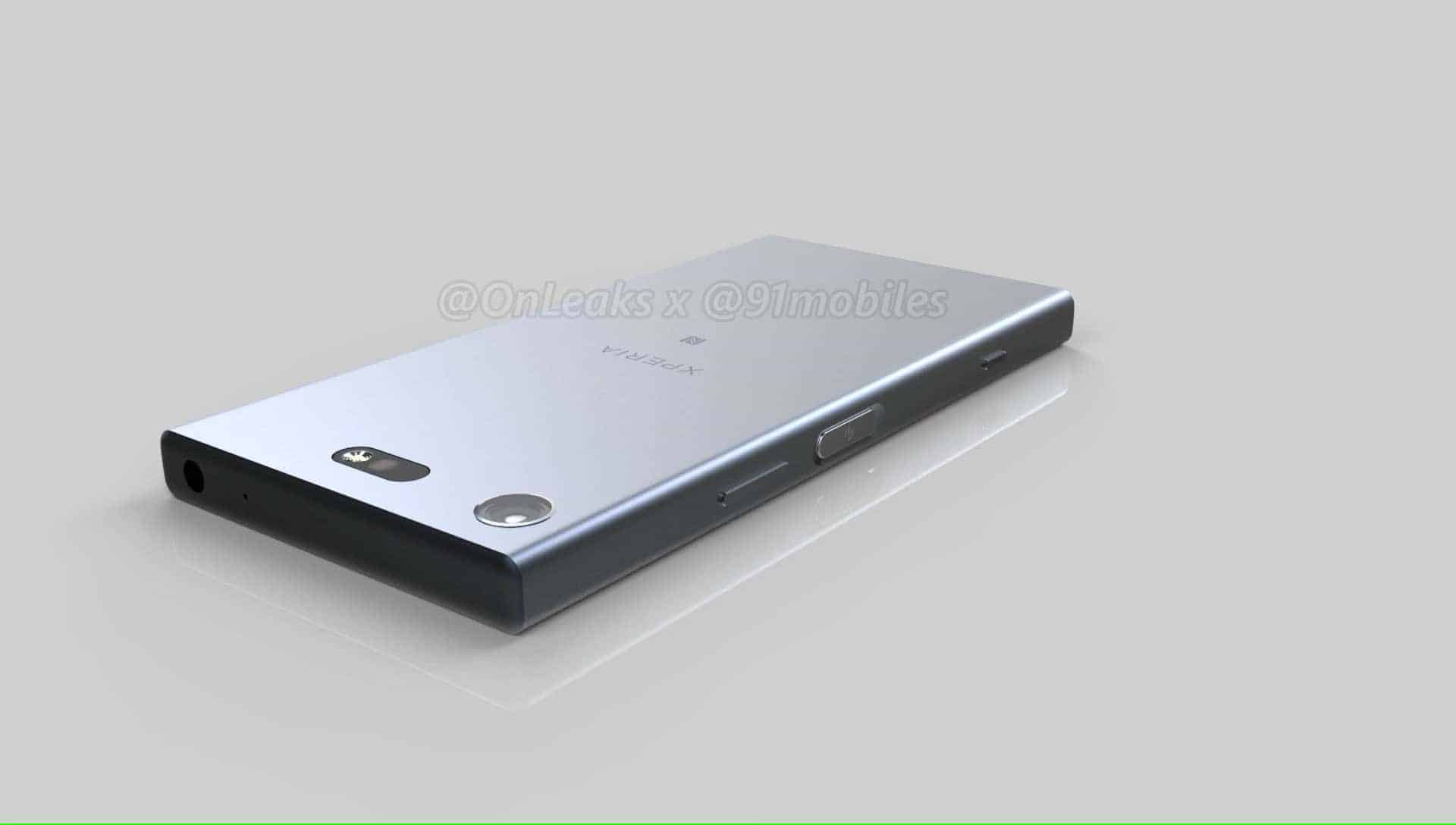 Sony Xperia XZ1 Compact Leaked Renders 2