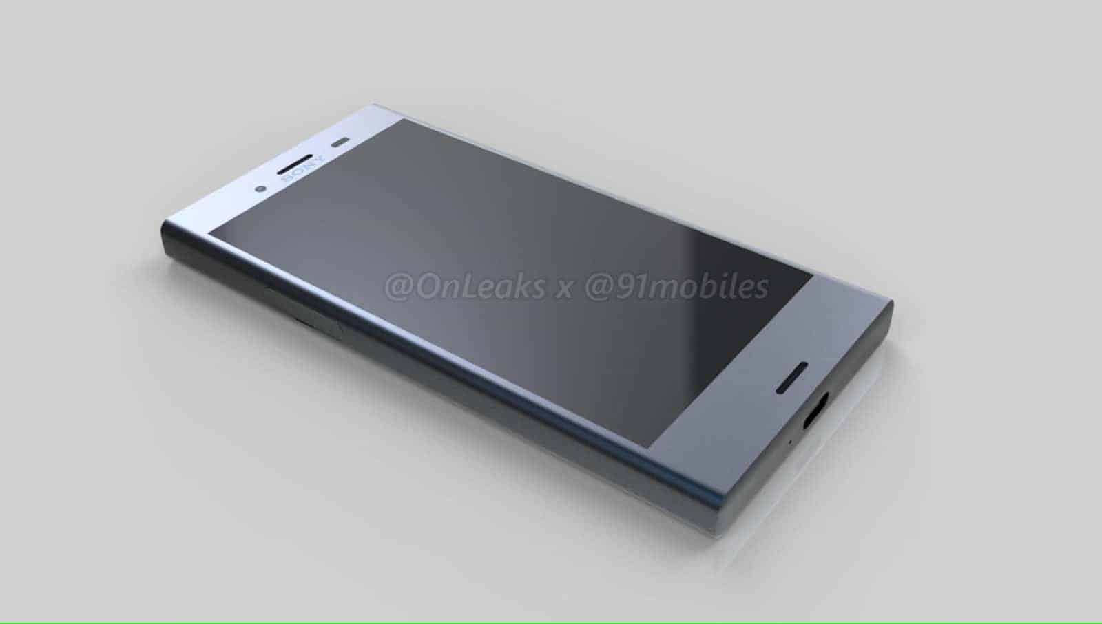 sony 39 s xperia xz1 compact shows up in leaked renders. Black Bedroom Furniture Sets. Home Design Ideas