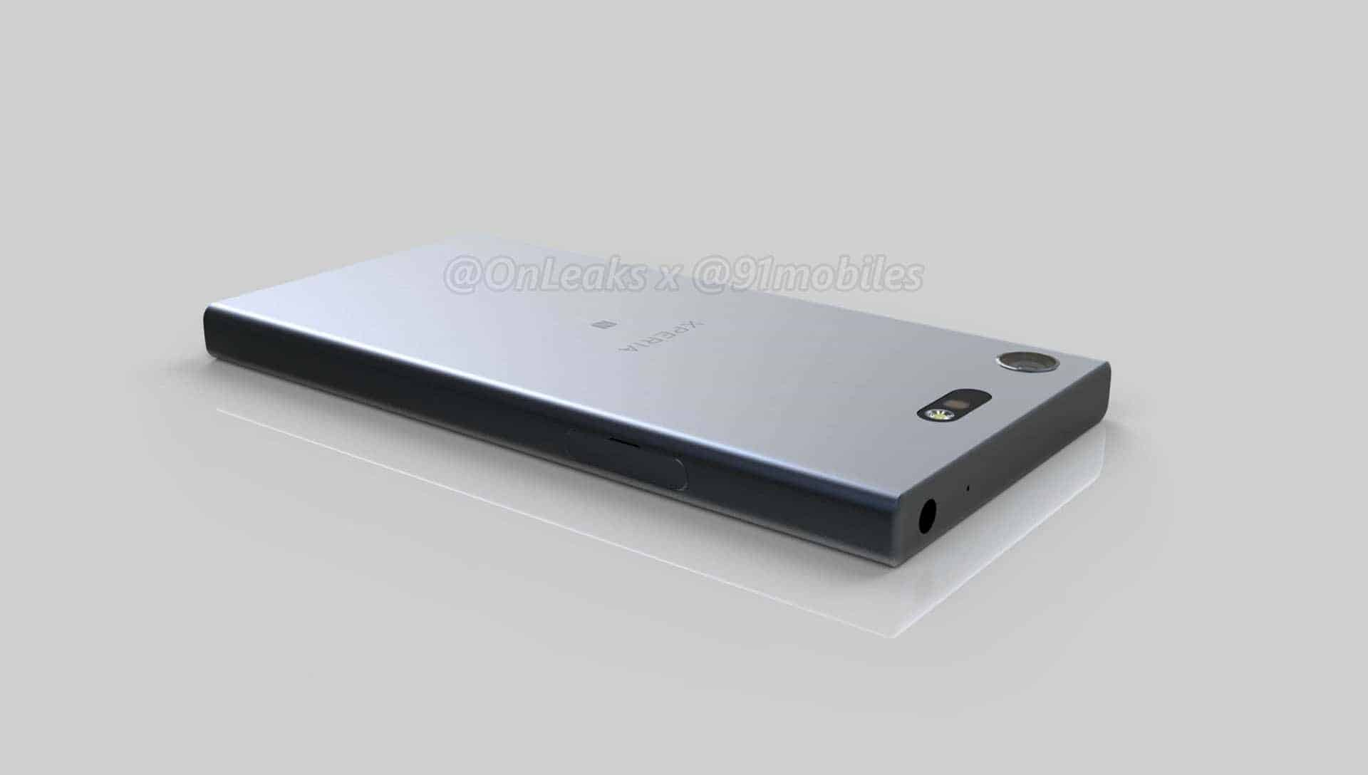 Sony Xperia XZ1 Compact Leaked Renders 5