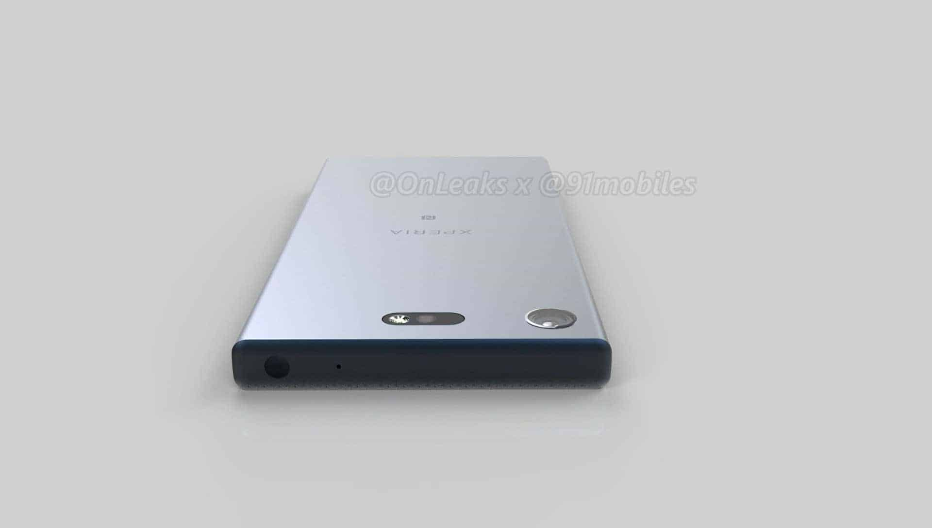 Sony Xperia XZ1 Compact Leaked Renders 6