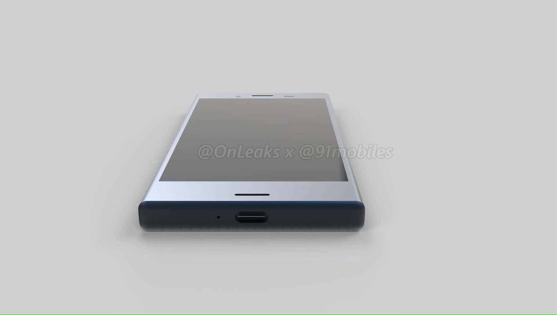 Sony Xperia XZ1 Compact Leaked Renders 7