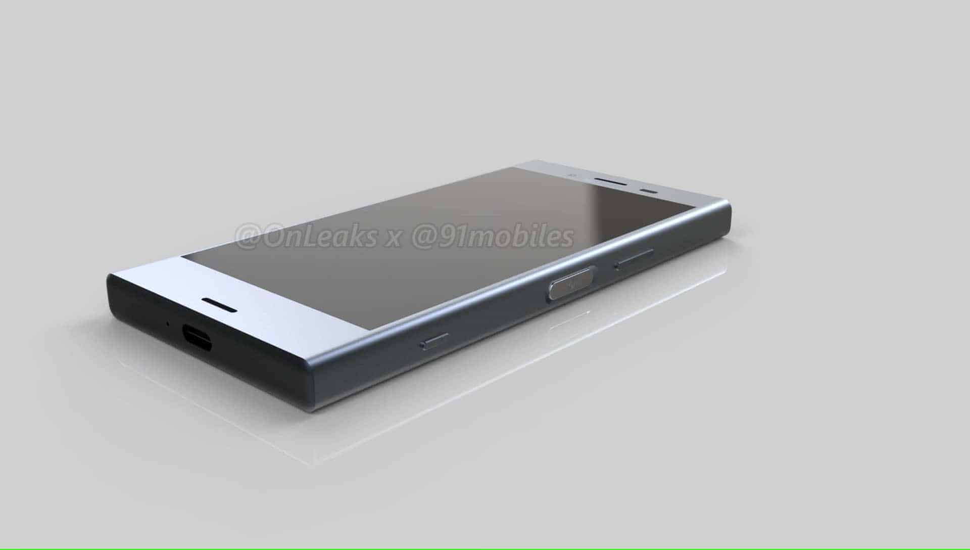 Sony Xperia XZ1 Compact Leaked Renders 8