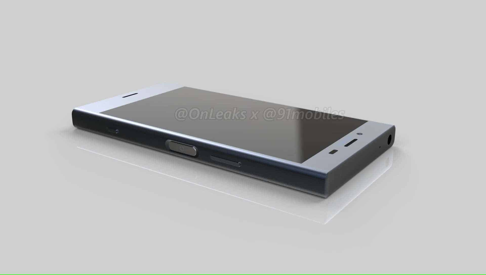 Sony Xperia XZ1 Compact Leaked Renders 9