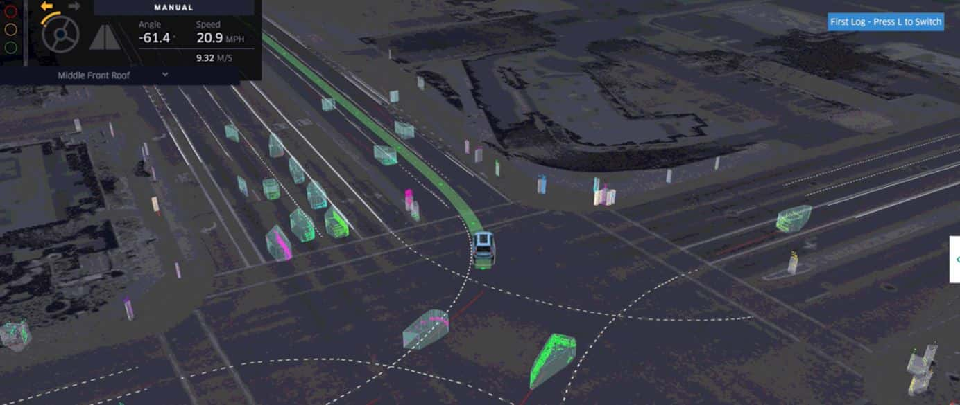 Uber Self Driving Visualization 1