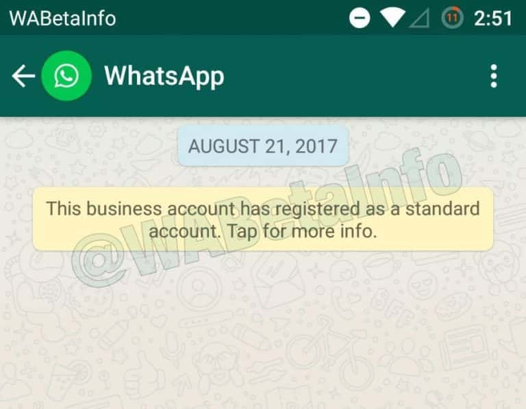 WhatsApp Business Verified Account 1