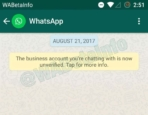 WhatsApp Business Verified Account 3