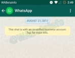 WhatsApp Business Verified Account 5