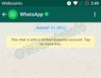 WhatsApp Business Verified Account 6