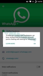 WhatsApp Business Verified Account 7