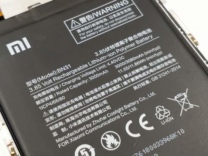 Xiaomi Mi 5X teardown 13