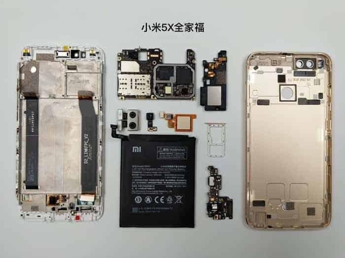 Xiaomi Mi 5X teardown 14