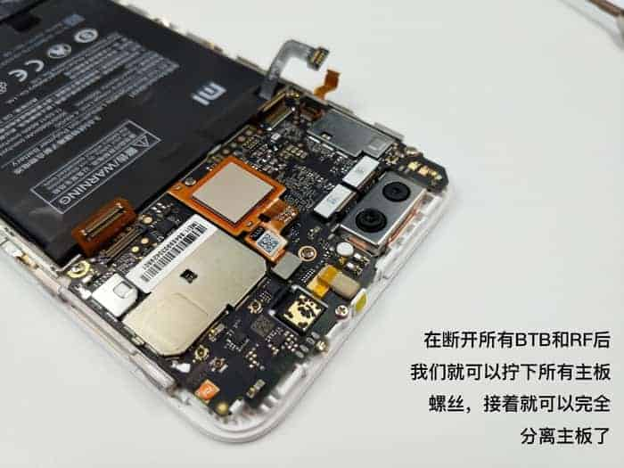 Xiaomi Mi 5X teardown 4