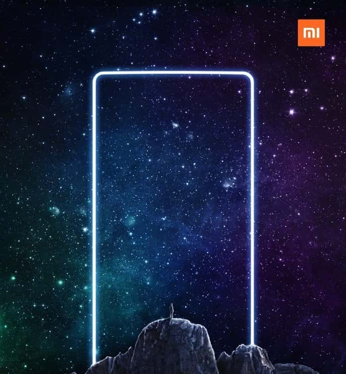 Xiaomi Mi MIX 2 official teaser 2