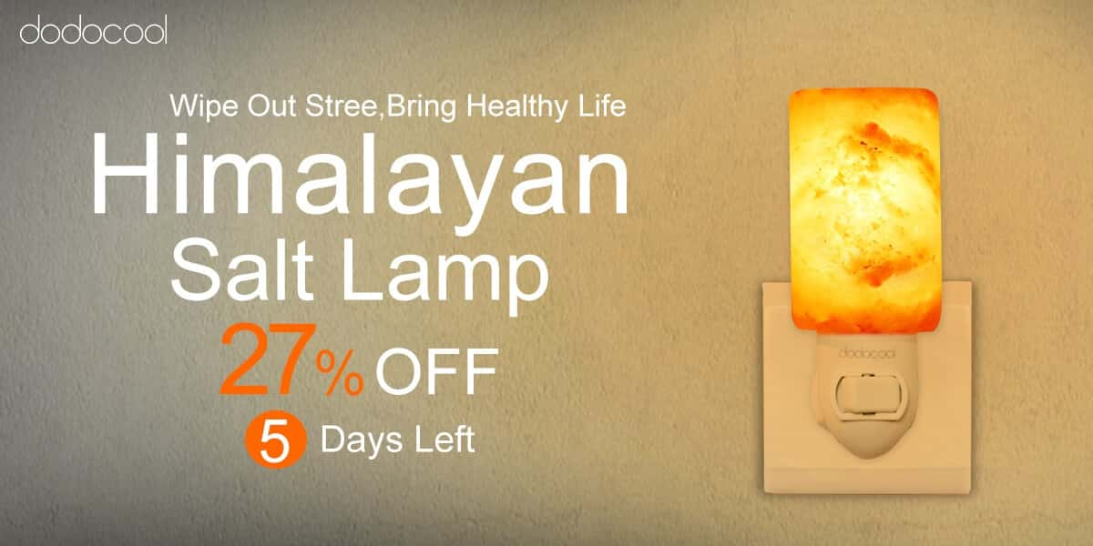Salt Lamps Leak : Sponsored Deal: The Dodocool Himalayan Salt Lamp For Under $11 Androidheadlines.com