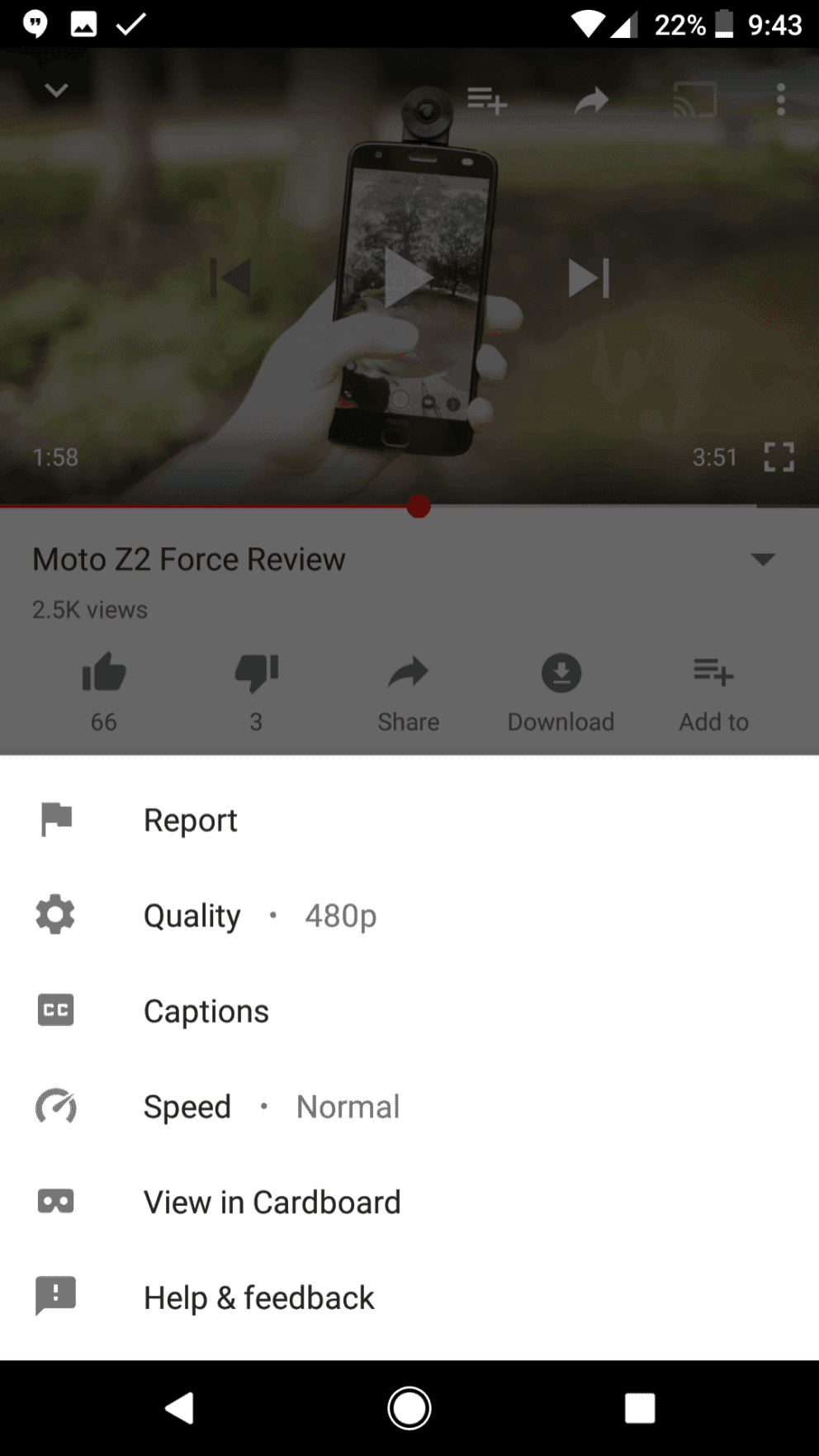 youtube speed control 1