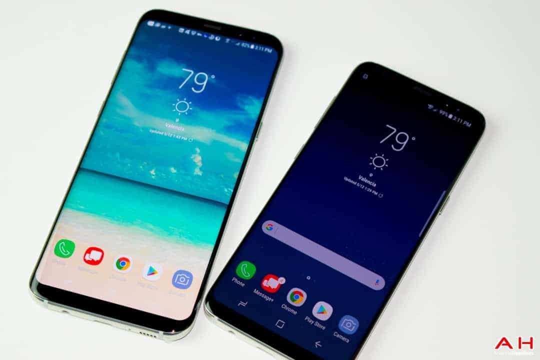 samsung galaxy s8 s8 plus begin getting oreo update. Black Bedroom Furniture Sets. Home Design Ideas
