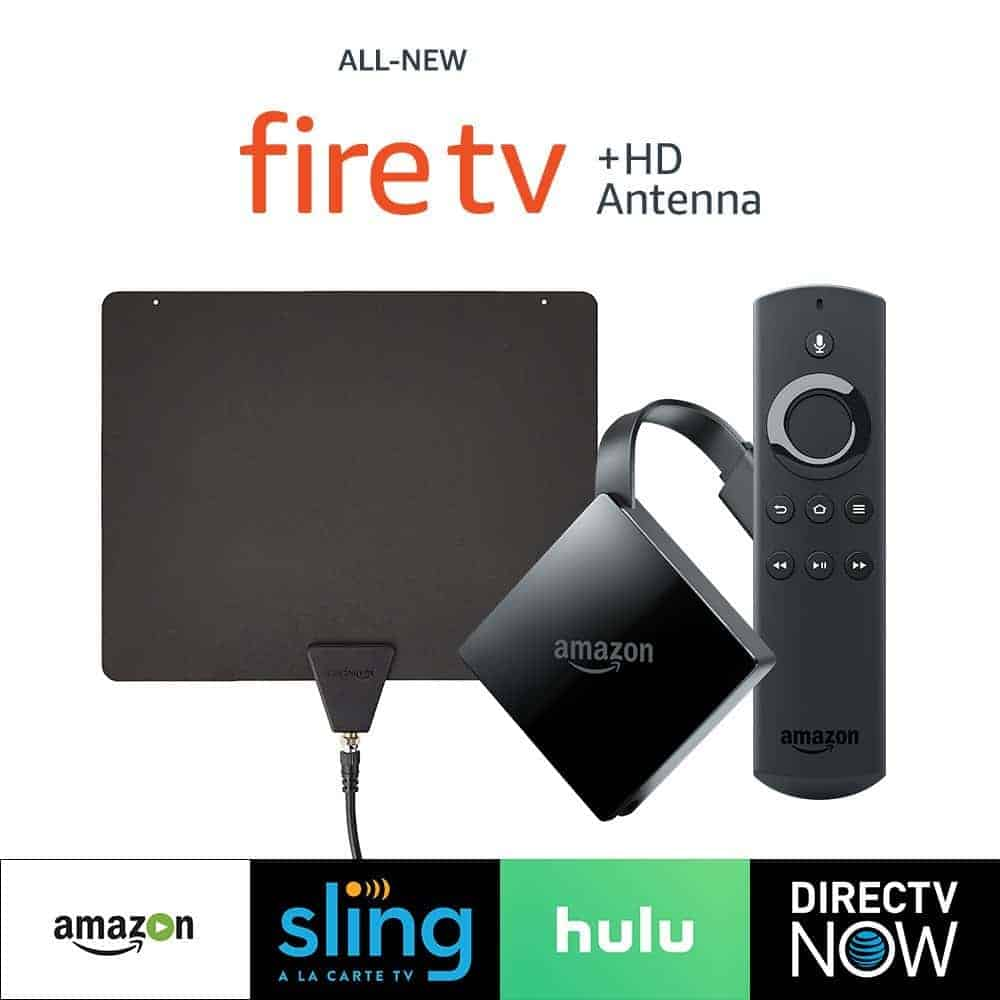 All-New Fire TV with 4K Ultra HD + HD Antenna