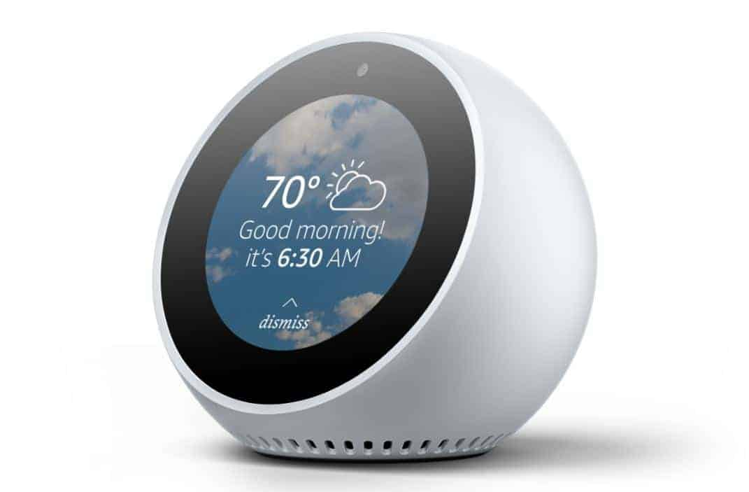 Amazon Echo Spot from Amazon Press Images