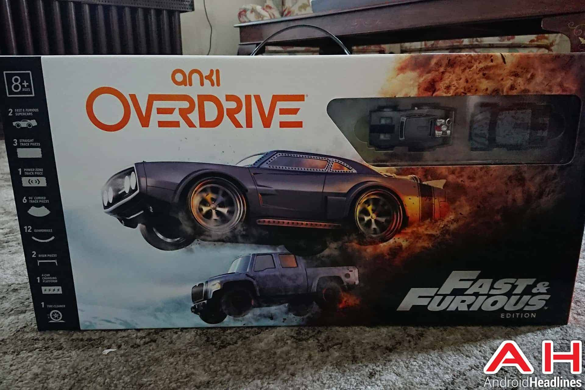 Anki Overdrive: Fast & Furious Edition Now Available | Androidheadlines.com