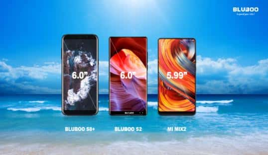 BLUBOO S8 and S2 coming 1