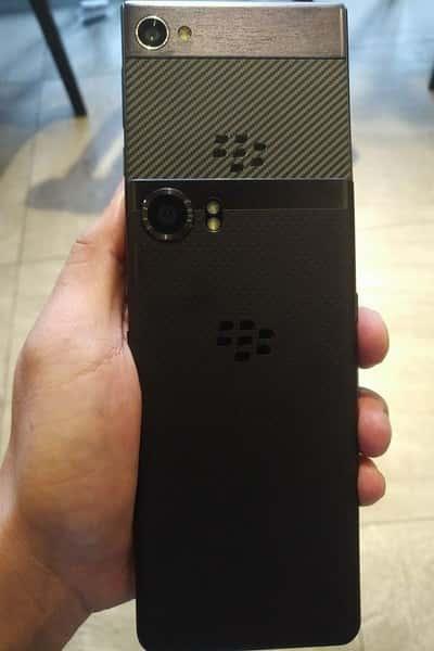 BlackBerry Kryption Rear Panel Leaked