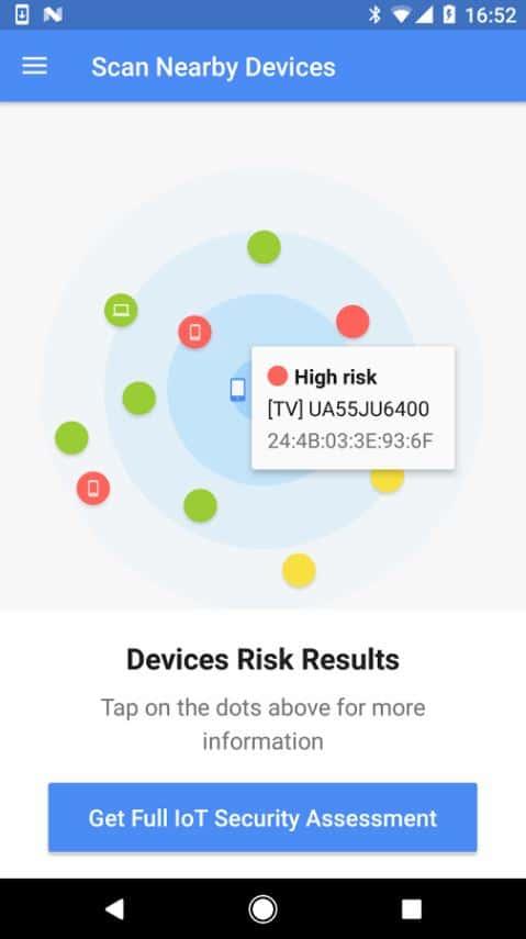 BlueBorne Vulnerability Scanner by Armis 04