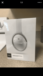 Bose Google Assistant Headphones