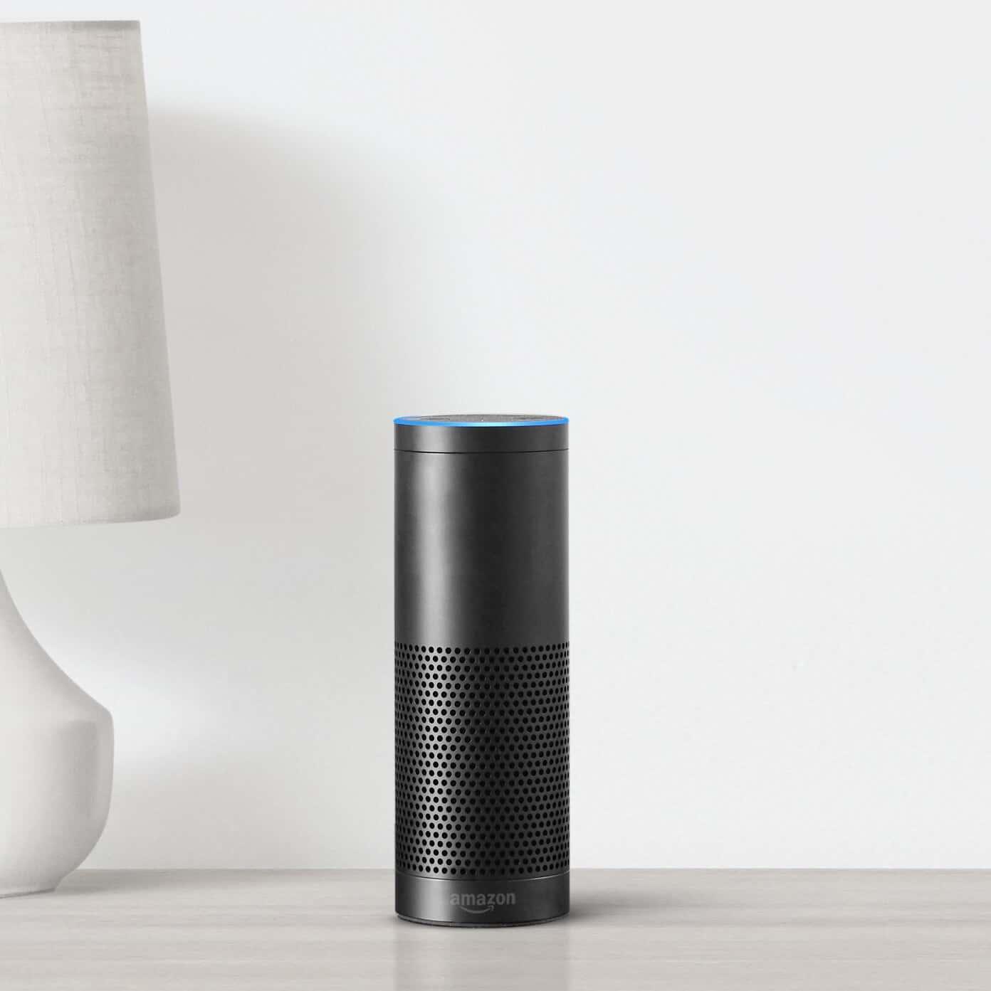 Echo Plus Black Table