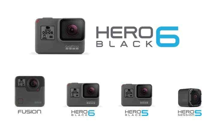 Gopro Hero 6 Black Action Camera Leaks In Official Renders