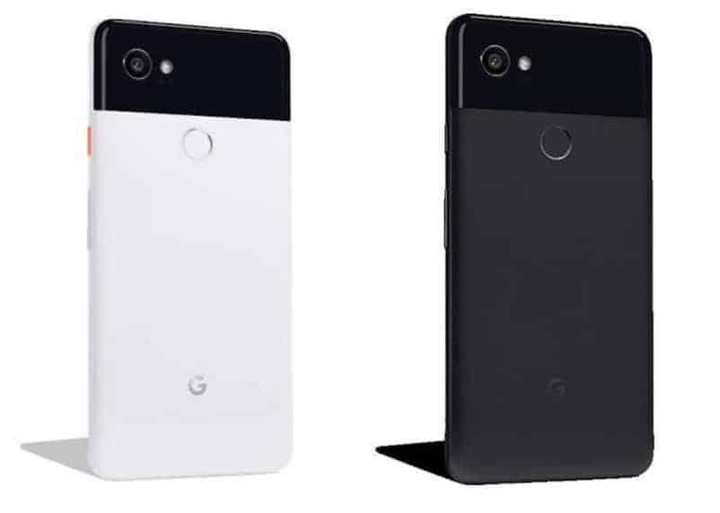 Google Pixel 2 XL Black White Black Leak 01