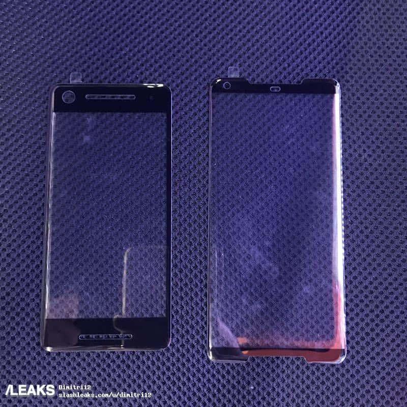 Google Pixel 2 and Pixel 2 XL screen protector leak 1