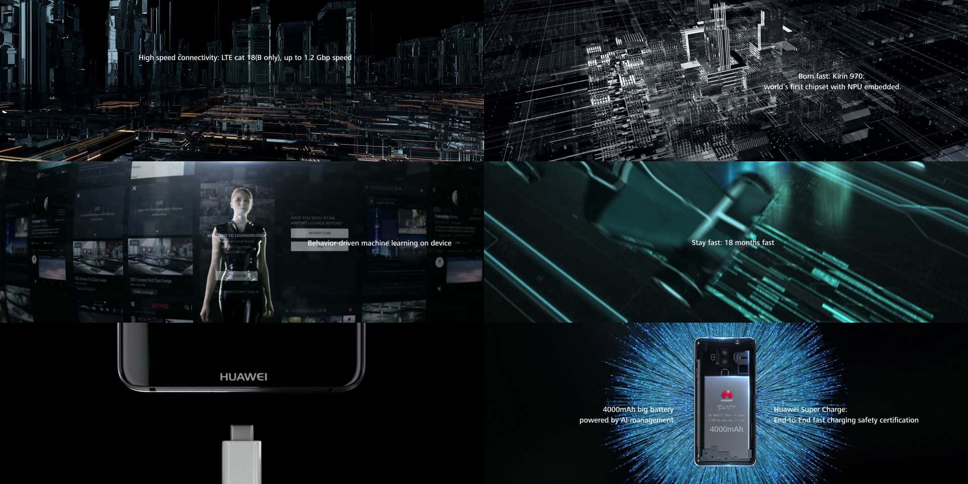 Huawei Mate 10 Promo Material French Leak 2