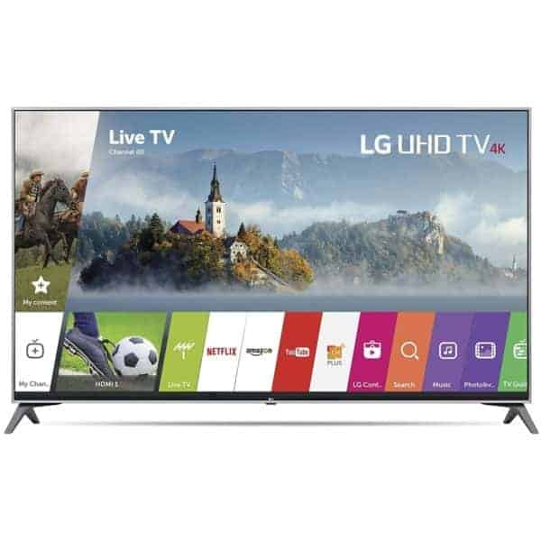 LG 65UJ6300 65-Inch 4K Ultra HD HDR Smart TV