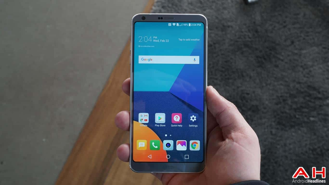 LG G6 Hands On AH 107