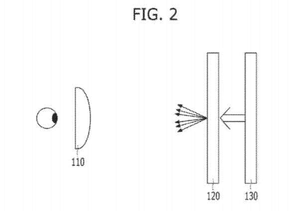 LG Light Diffuser Patent 20170263691 Fig 2