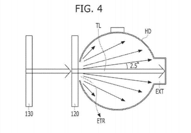 LG Light Diffuser Patent 20170263691 Fig 4