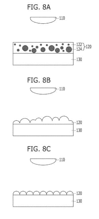 LG Light Diffuser Patent 20170263691 Fig 8